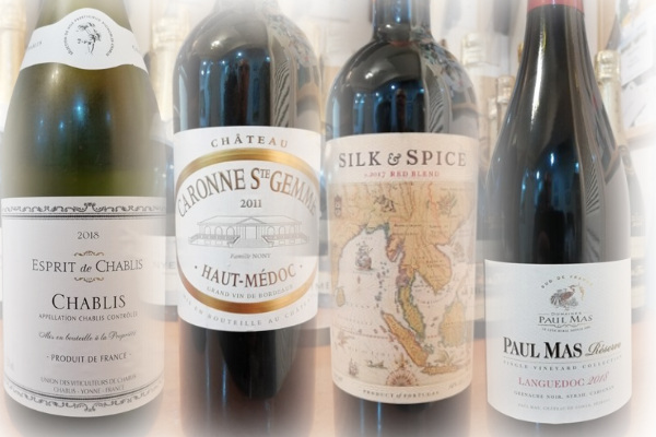 Selection of 4 wines