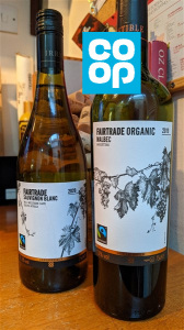 Co op Fairtrade wines